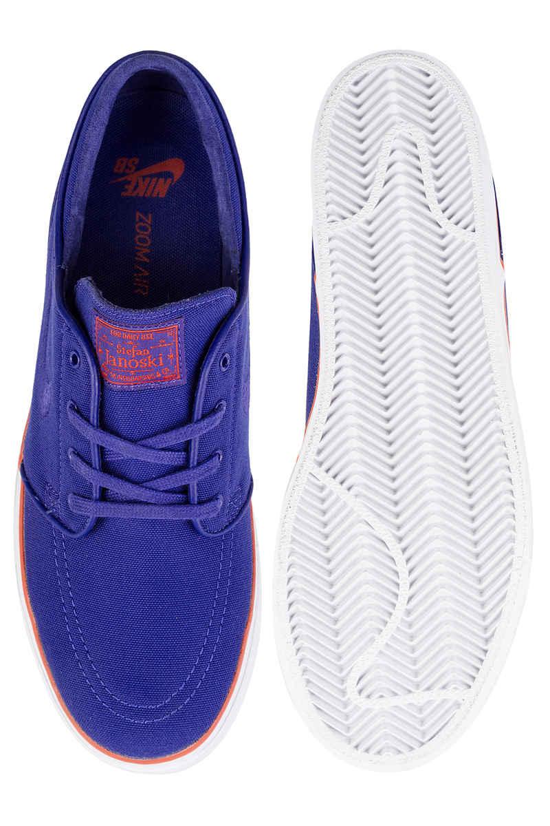Nike SB Zoom Stefan Janoski Canvas Chaussure (deep night max orange)