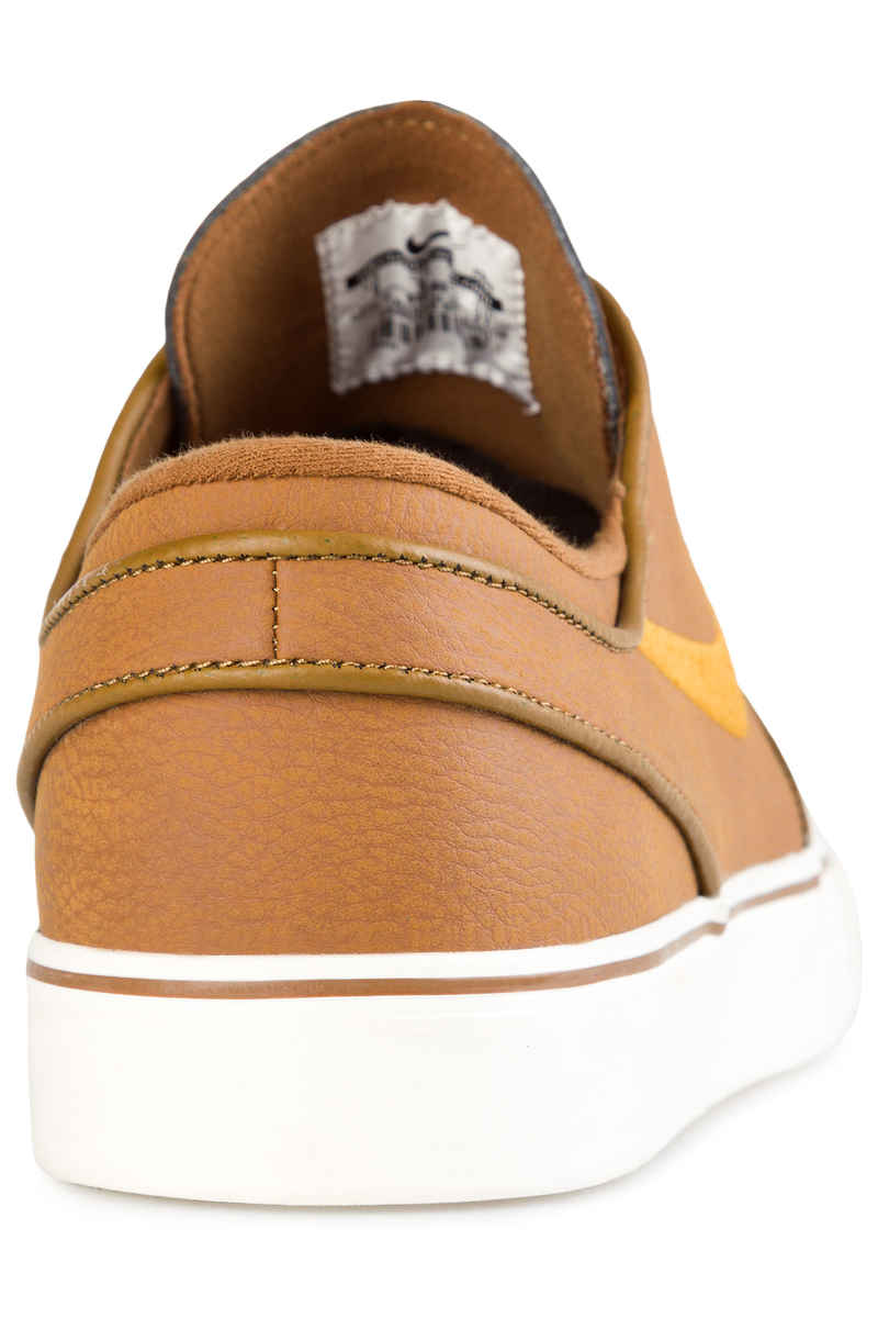 Nike SB Zoom Stefan Janoski Leather Shoes (ale brown desert ochre sail)