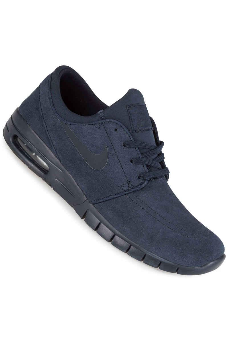 Nike SB Stefan Janoski Max Suede Shoes (dark obsidian)