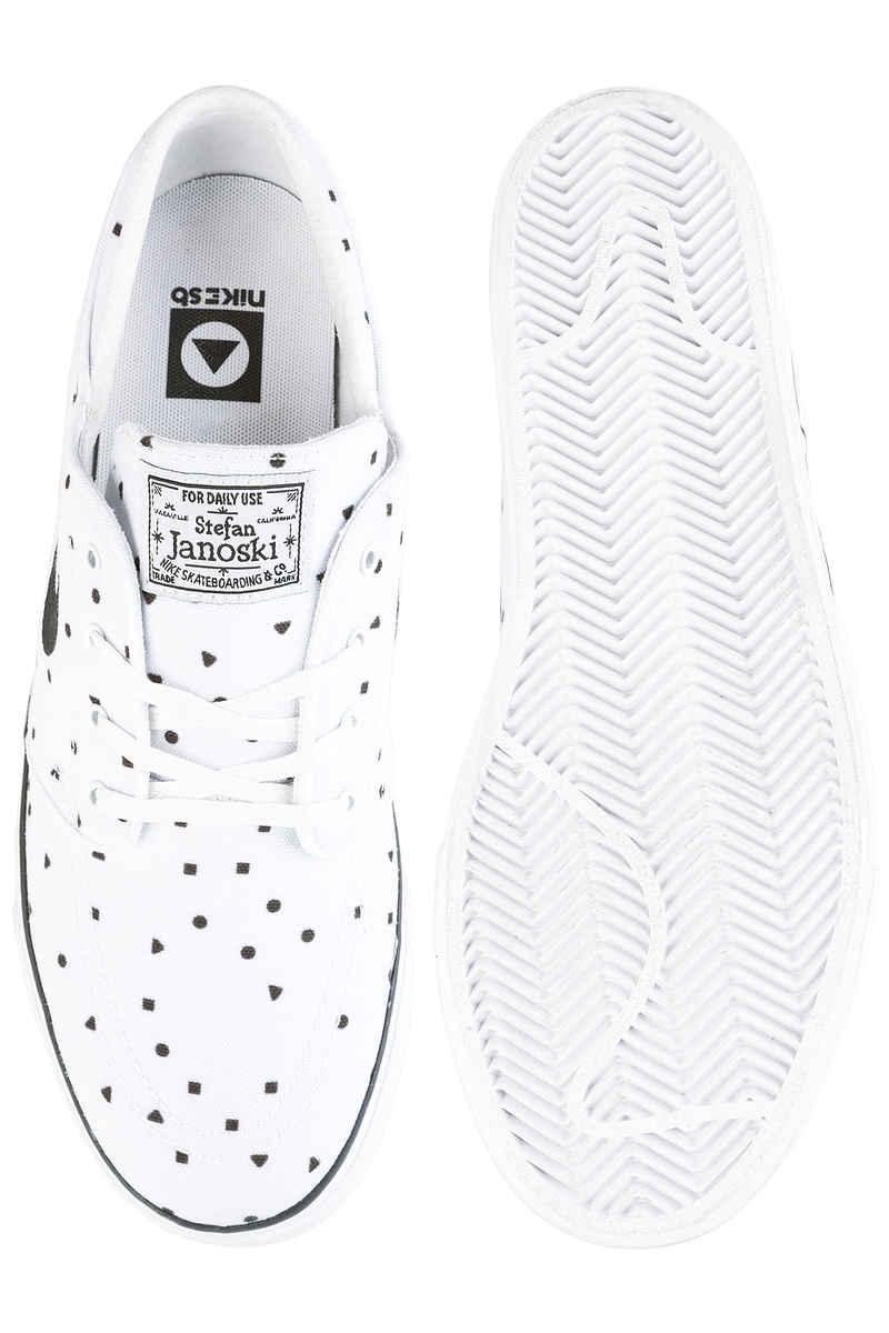 Nike SB Zoom Stefan Janoski Canvas Premium Schuh (white black)
