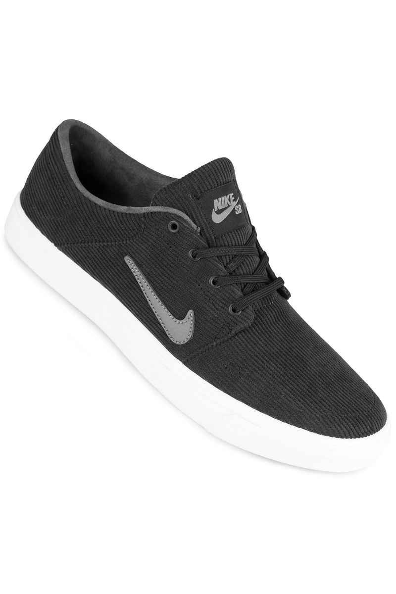Nike SB Portmore Canvas Schuh (black dark grey)