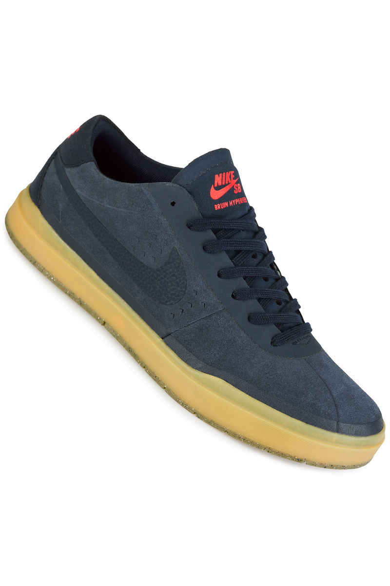 nike sb bruin hyperfeel shoes obsidian gum buy at. Black Bedroom Furniture Sets. Home Design Ideas