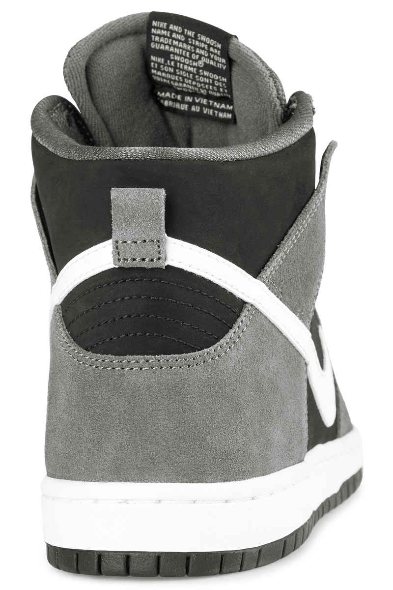 Nike SB Dunk High Pro Shoes (dark grey white)