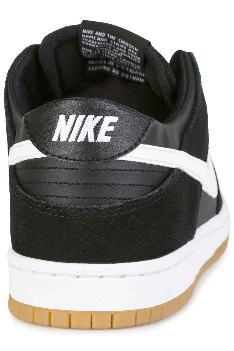 Nike SB Dunk Low Pro Shoes (black white gum)