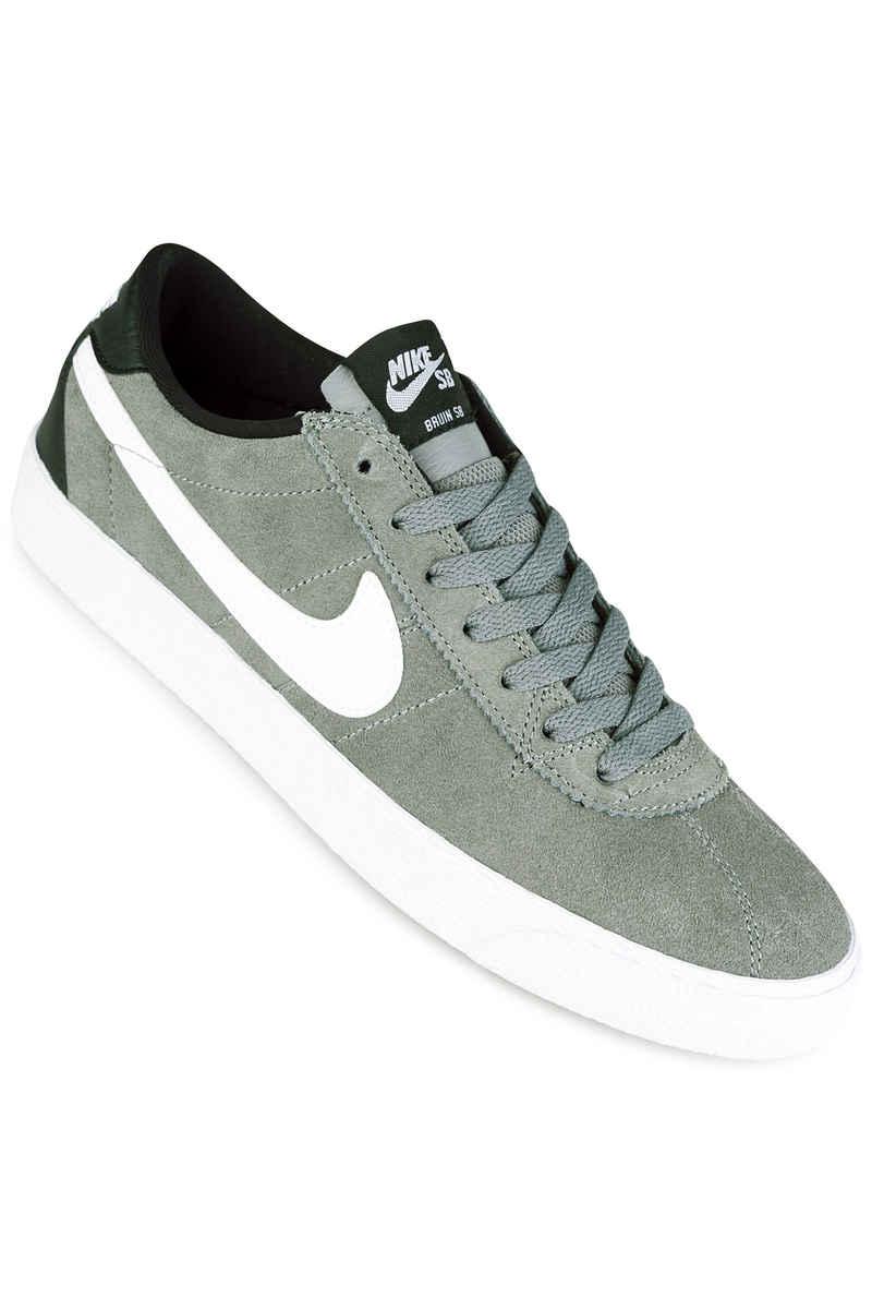 Nike SB Zoom Bruin Shoes (tumbled grey white white black)