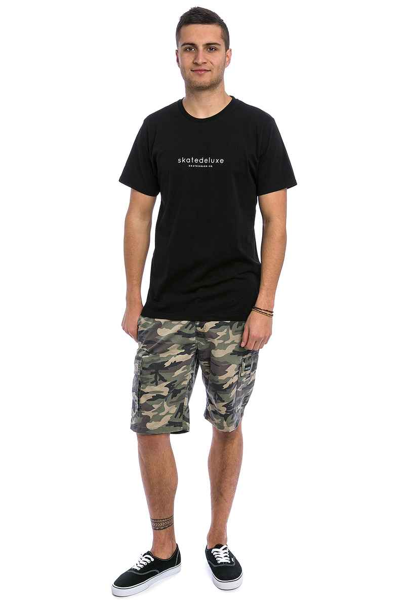 Iriedaily Rugged Cargo Shorts (camou olive)