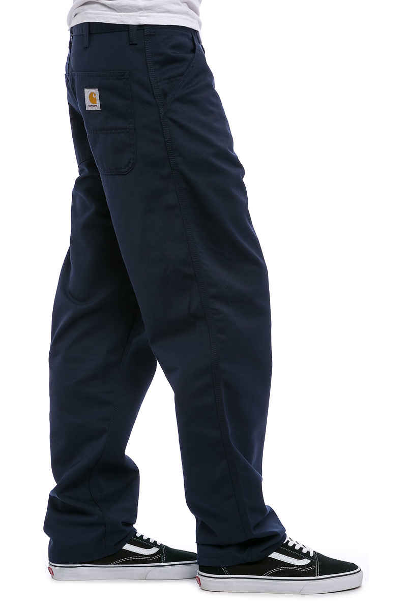 Carhartt WIP Simple Pant Denison Pantalons (navy rinsed)