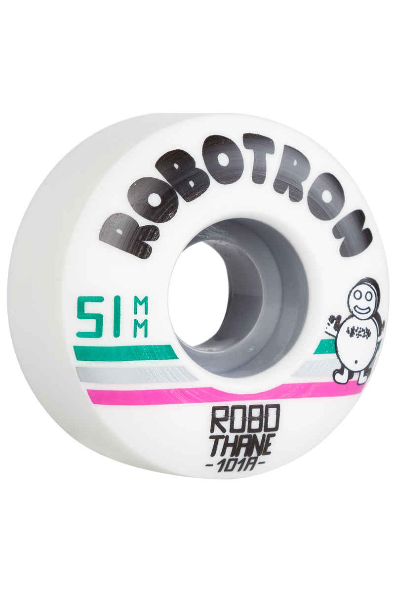 Robotron Robothane Giro Wiel (white) 51mm 101A 4 Pack