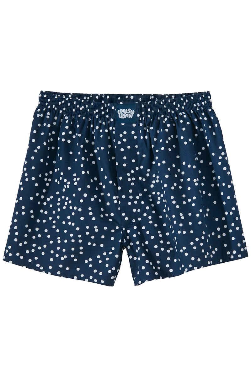Lousy Livin Underwear Dots Boxershorts (navy)