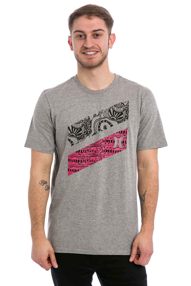 Hurley Icon Slash Julian T-Shirt (dark heather grey)