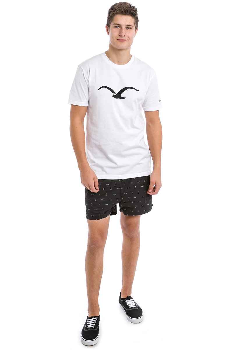 Cleptomanicx Jam Pattern Shorts (black)