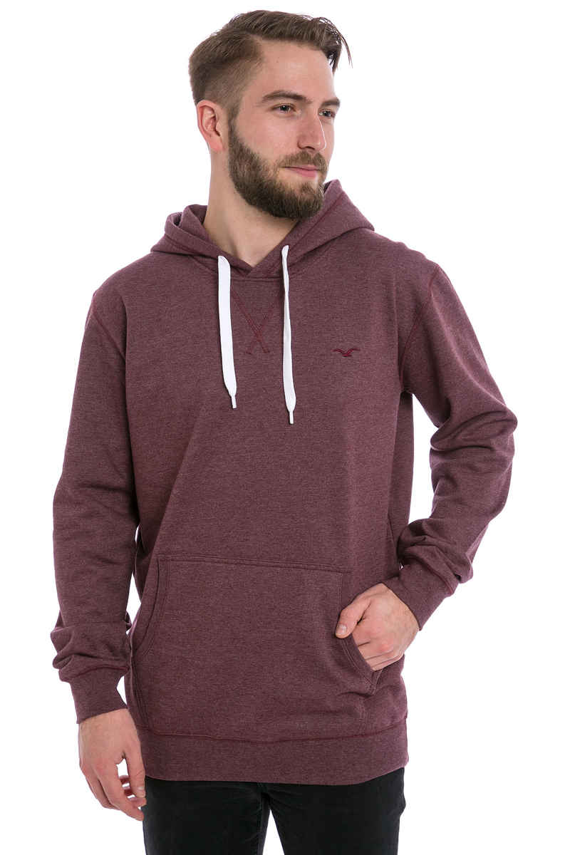 Cleptomanicx Ligull 2 Hoodie (heather tawny port)