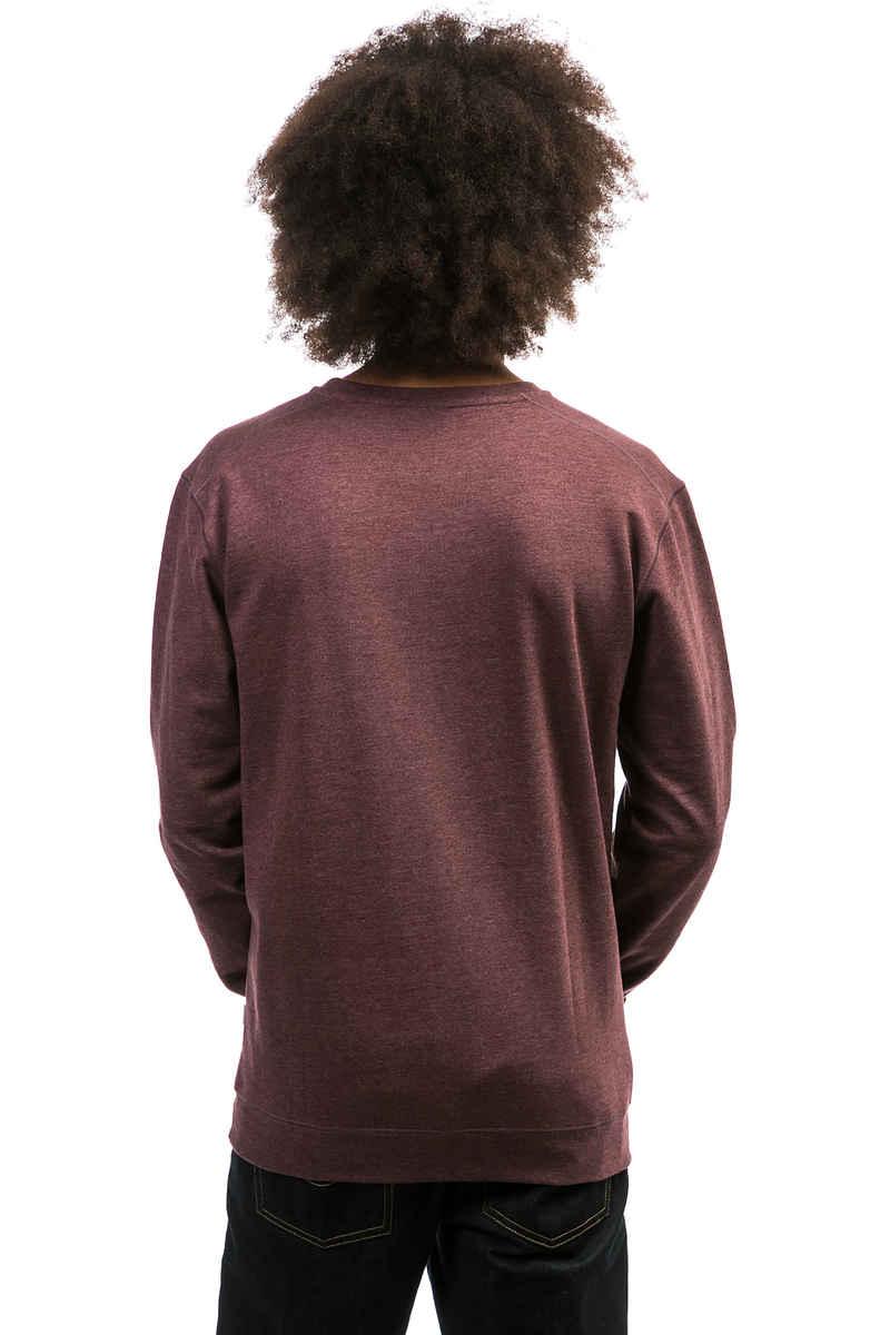 Cleptomanicx Ligull 2 Sweatshirt (heather tawny port)