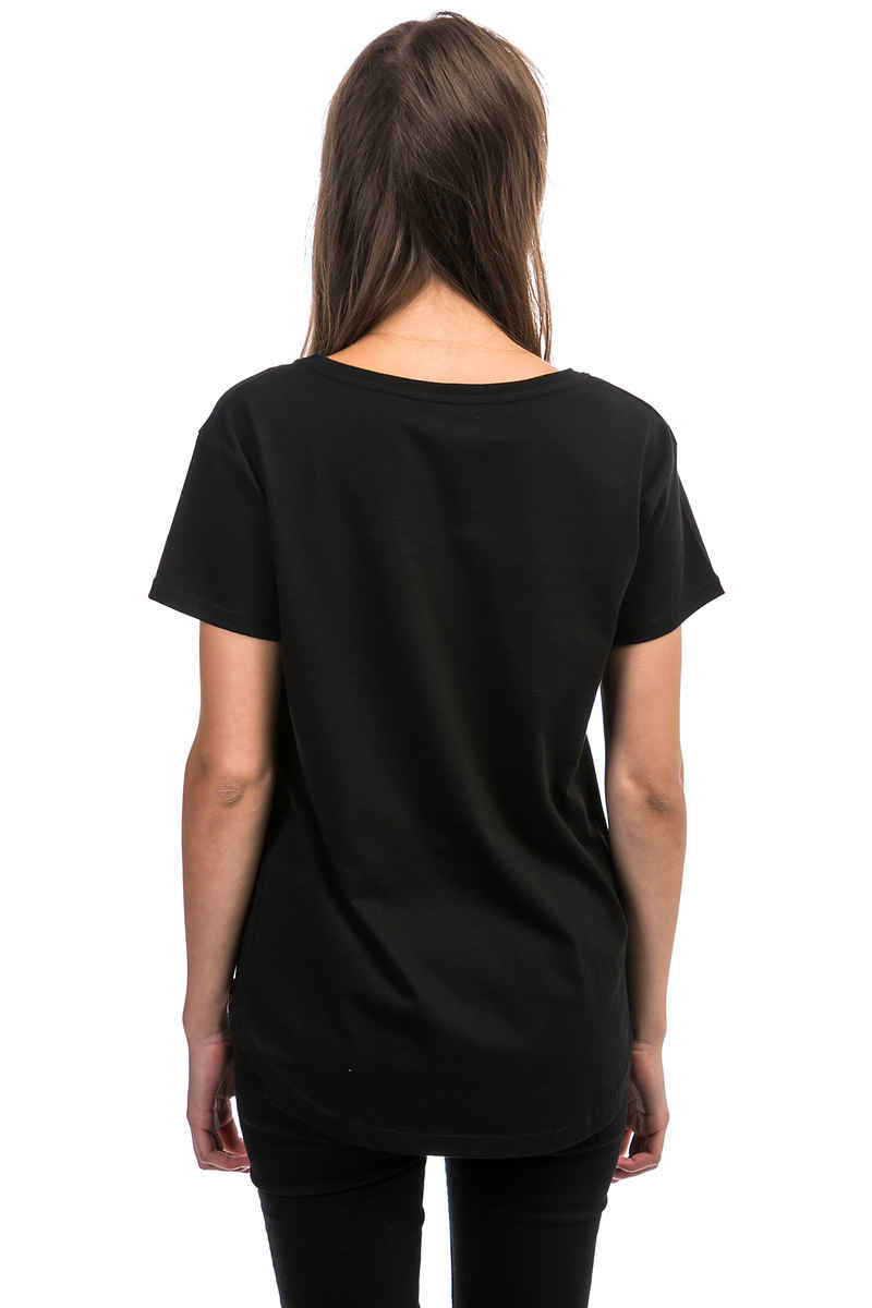 Cleptomanicx Sun T-Shirt women (black)