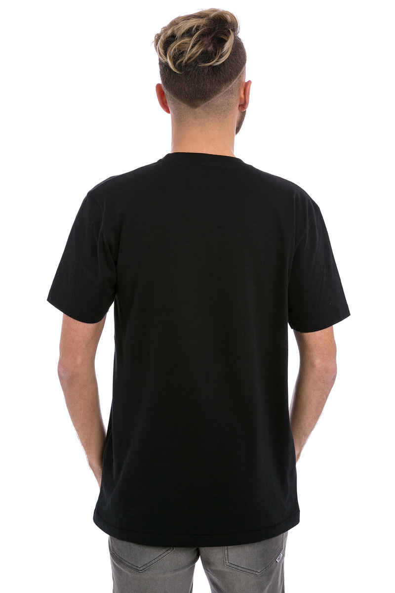 Cleptomanicx Origami T-Shirt (black)