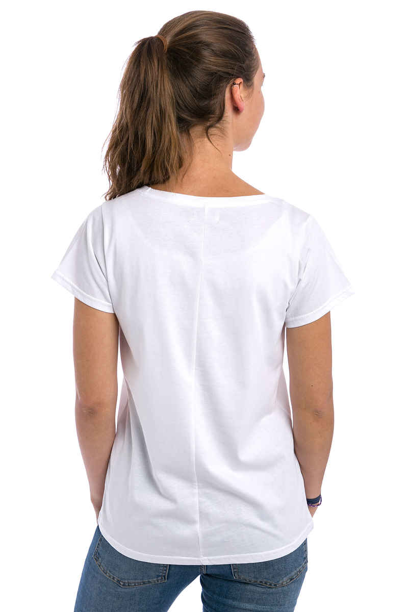 Cleptomanicx Möwe Love T-Shirt women (white)