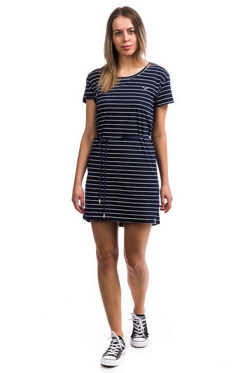 Cleptomanicx Harbour Kleid women (dark navy)
