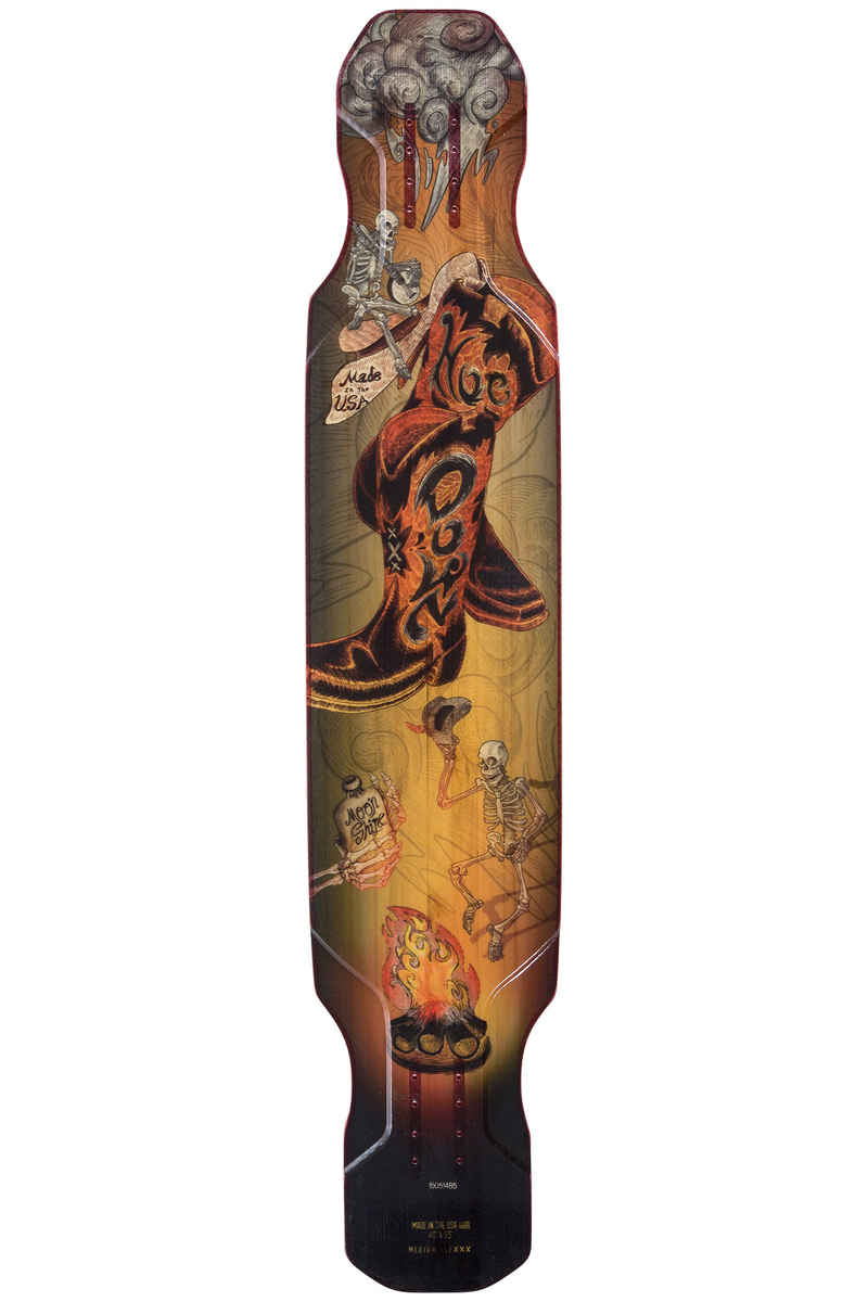 "Moonshine MFG Hoedown Medium 48"" (121,9cm) Longboard Deck (orange)"