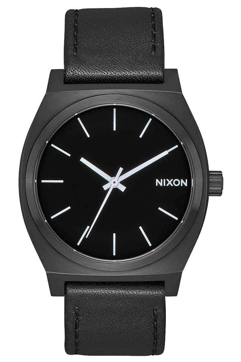 matte watches watch time black teller gold nixon
