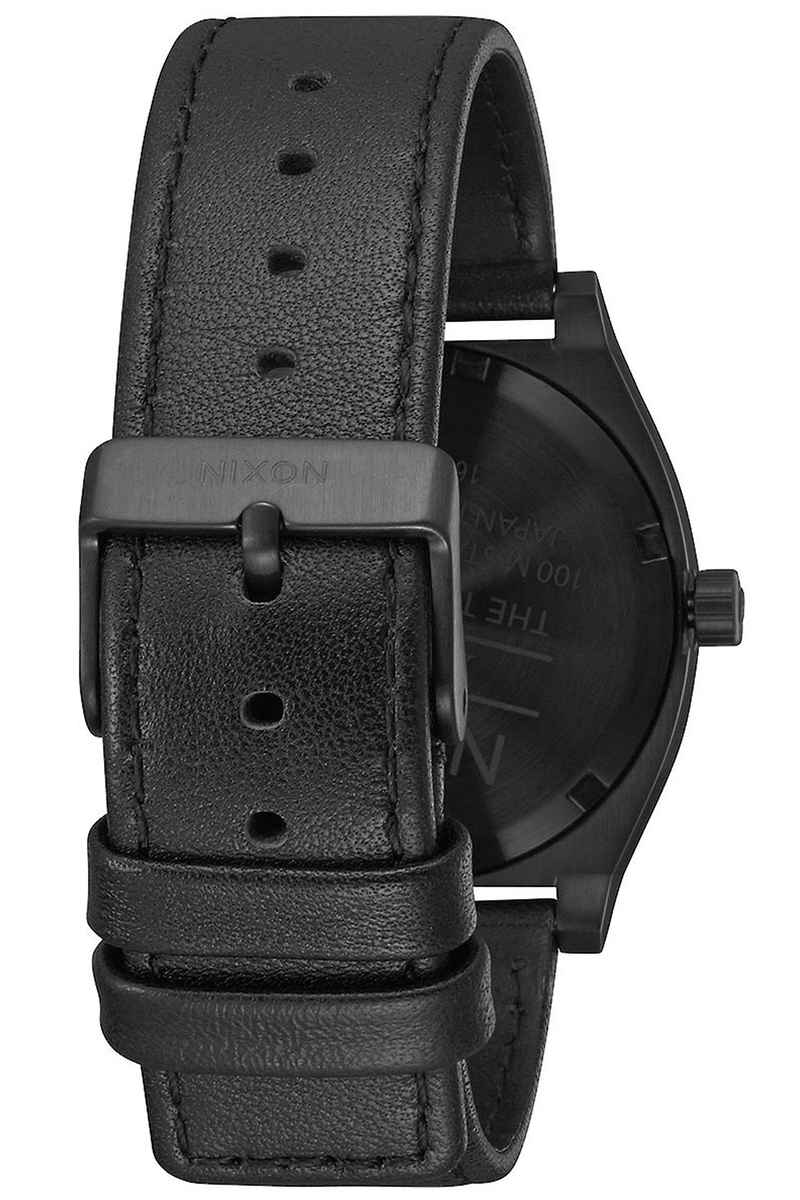 Nixon The Time Teller Watch (all black white)