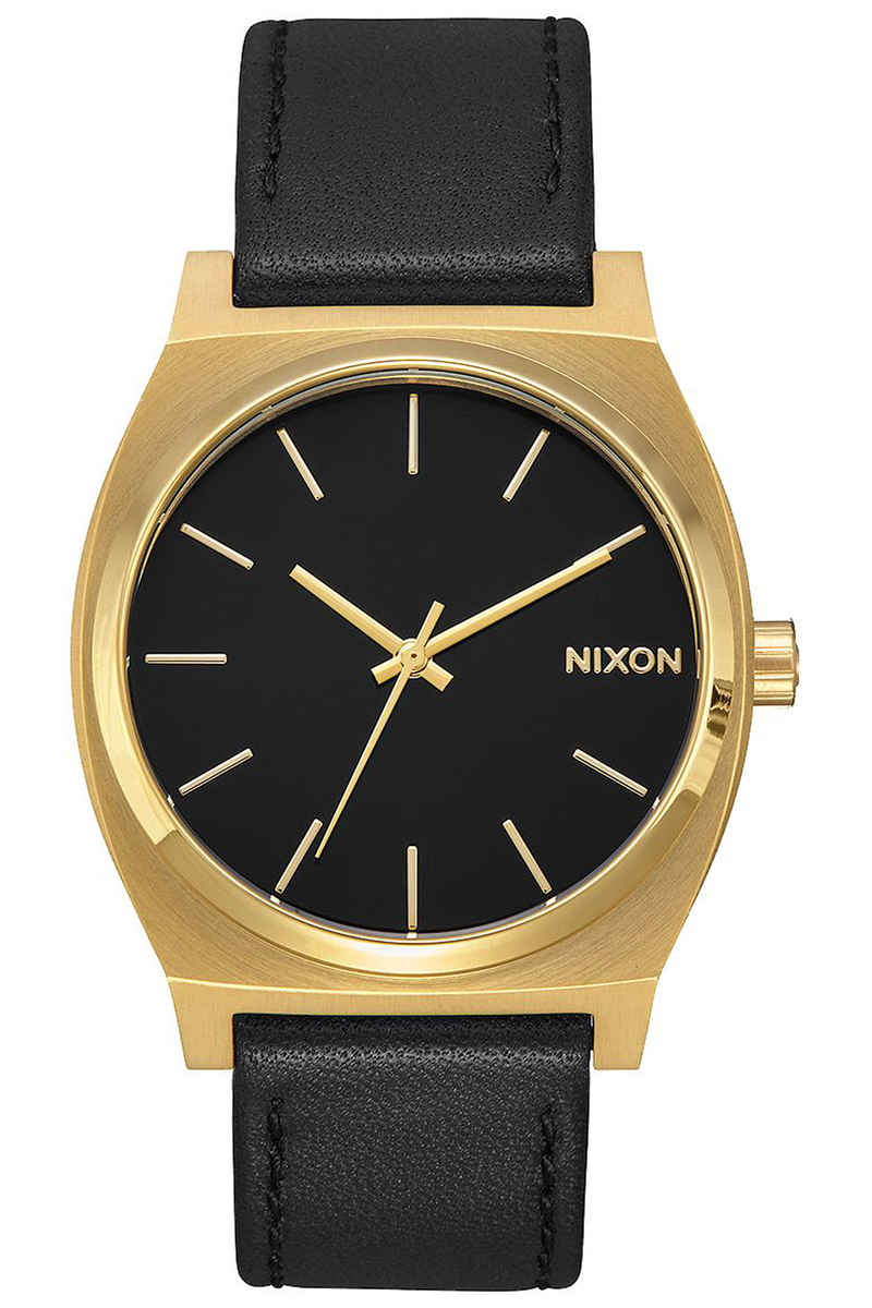 Nixon The Time Teller Watch (gold black black)