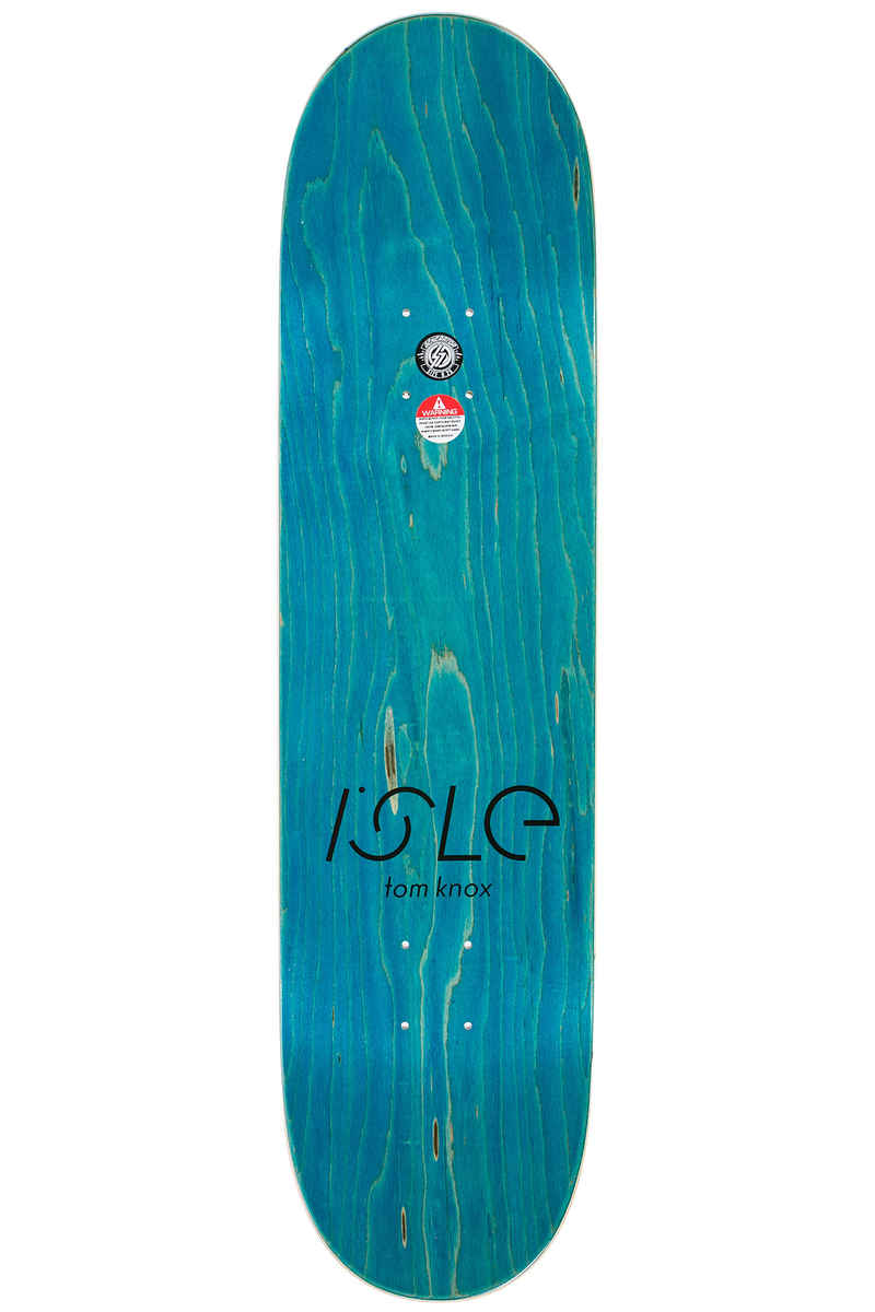 "Isle Skateboards Knox Enamel 8.25"" Deck (multi)"