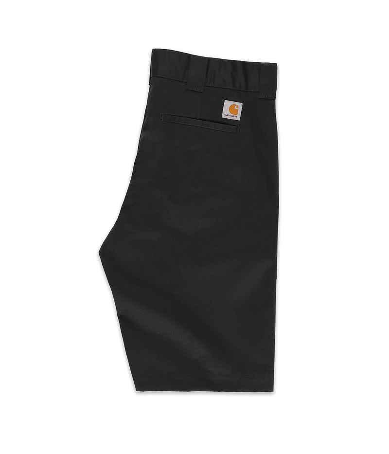 Carhartt WIP Master Denison Shorts (black rinsed)