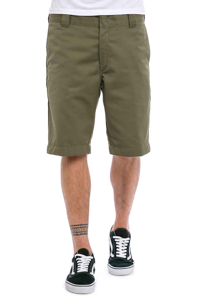 Carhartt WIP Master Denison Shorts (rover green rinsed)