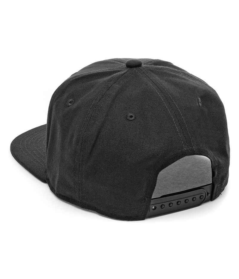 Carhartt WIP Logo Snapback Cap (black)
