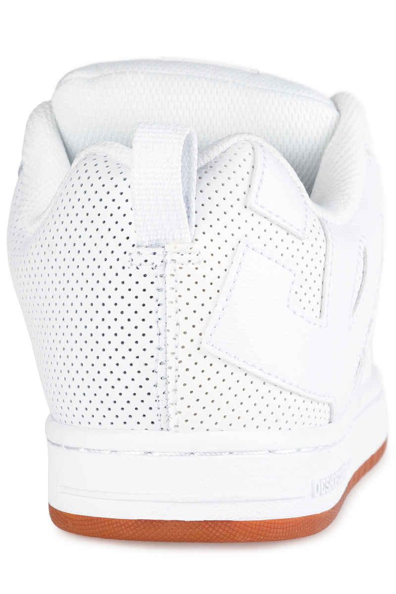 DC Court Graffik Shoes  (white white gum)