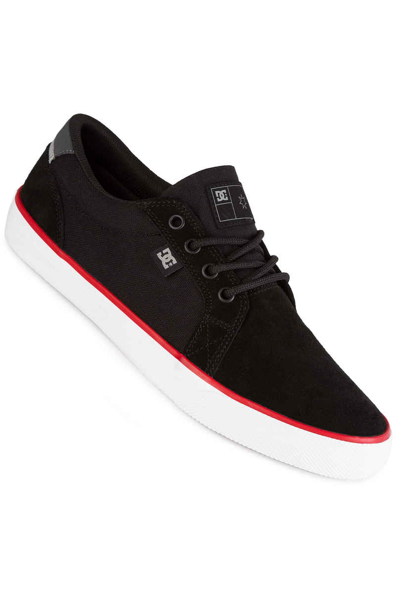 DC Council S Shoe (black white red)