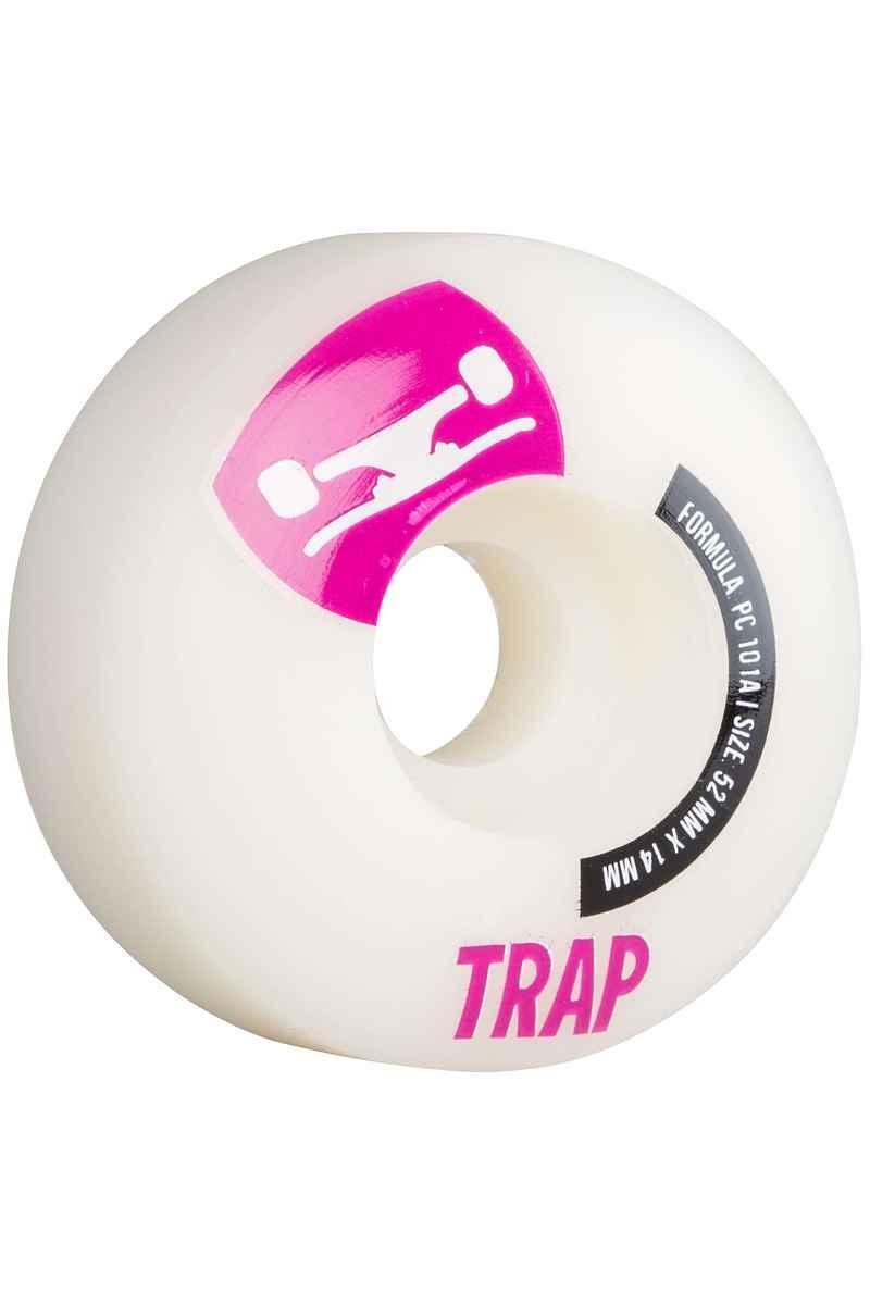 Trap Skateboards Crossbreed 52mm Ruote (white purple) pacco da 4