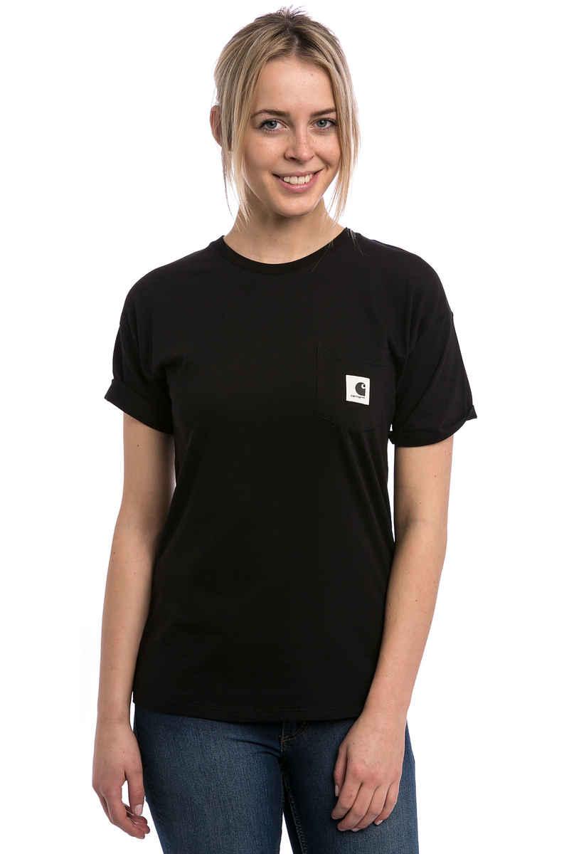 Carhartt WIP W' Carrie Pocket T-Shirt women (black ash heather)