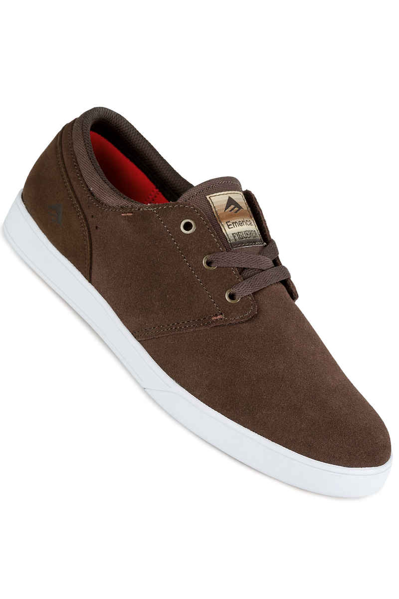 Emerica The Figueroa Shoes (brown white gum)