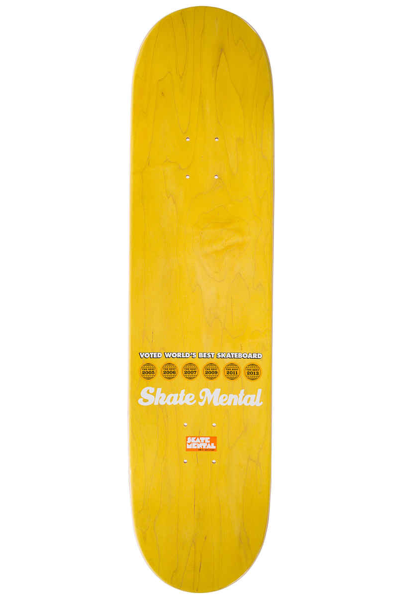 "Skate Mental Colden Soup 8.25"" Tabla (red yellow)"