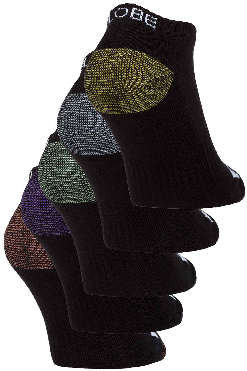 Globe Romney Ankle Sokken US 7-11 (assorted) 5 Pack