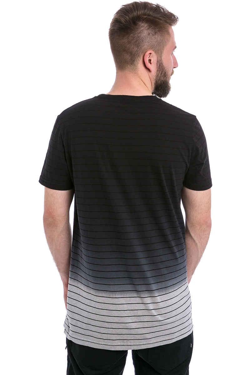 Globe Moonshine T-Shirt (grey marle dip dye)