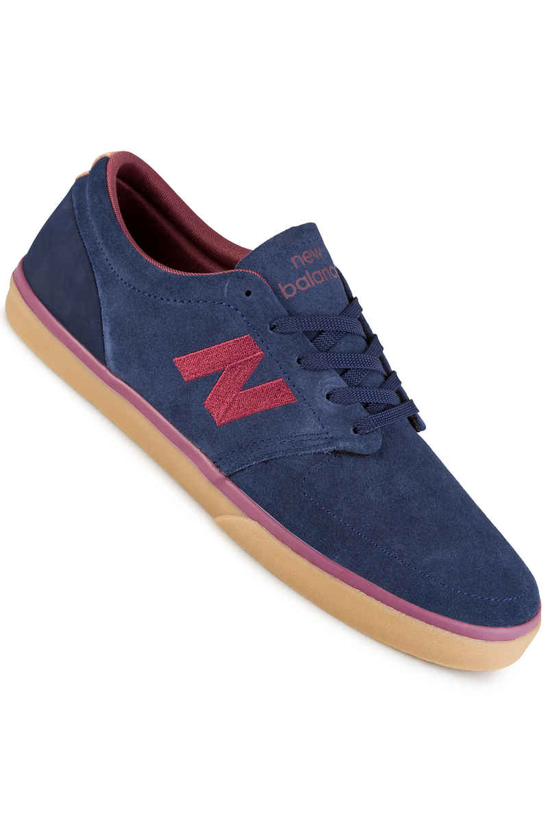 New Balance Numeric 345 Shoes (navy burgundy)