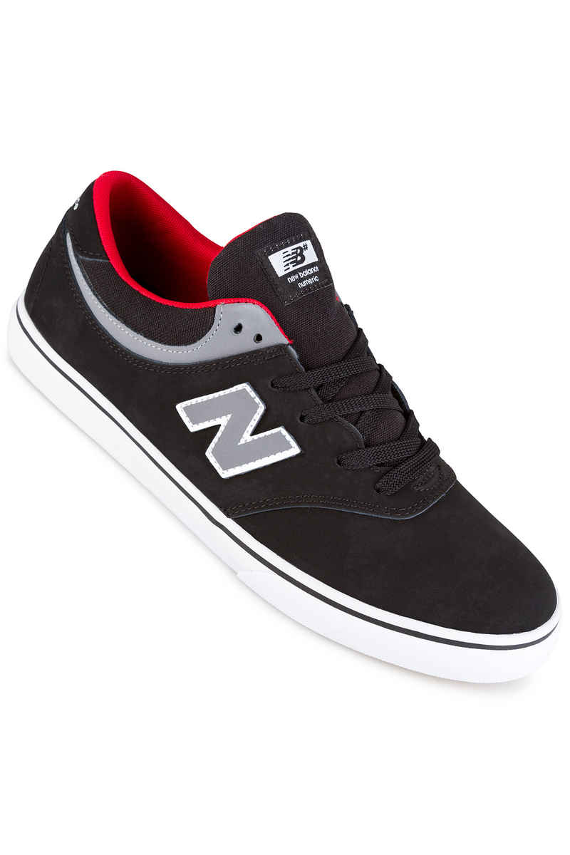 New Balance Numeric 254 Shoes (black grey red)