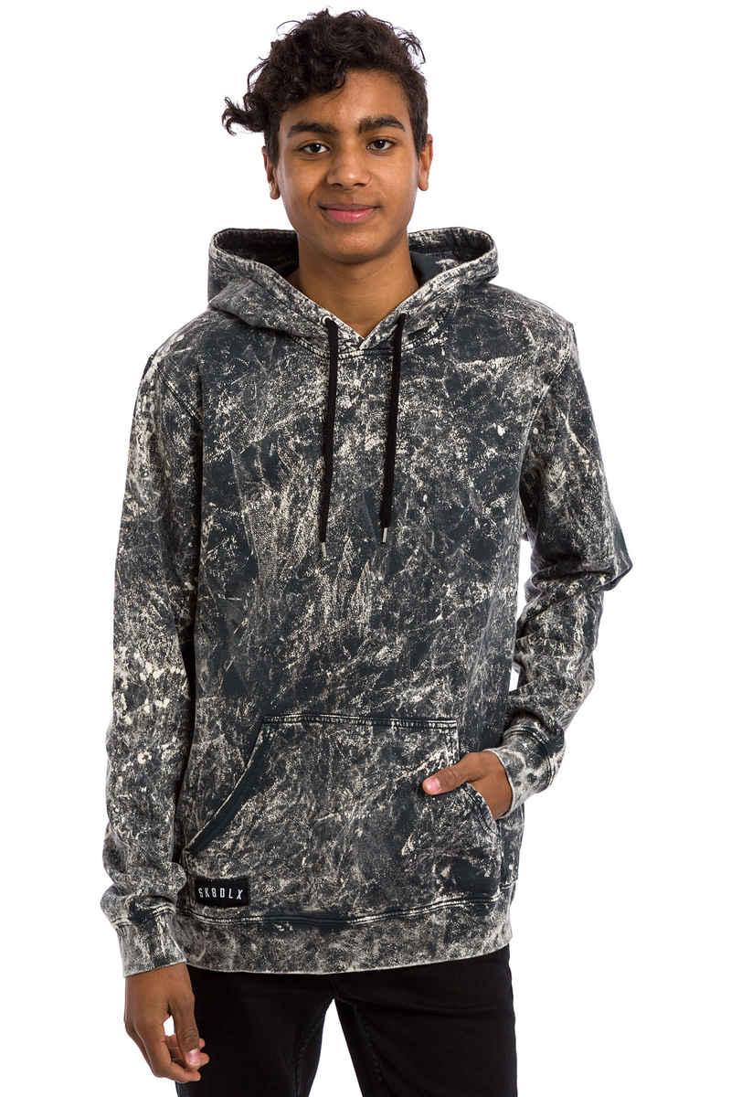 SK8DLX Tie Dye Hoodie (black grey)