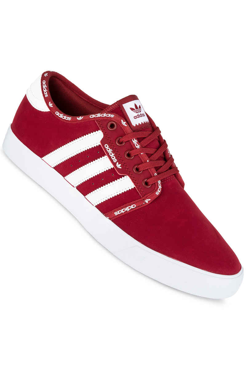 adidas Seeley  Shoe (mystery red white white)