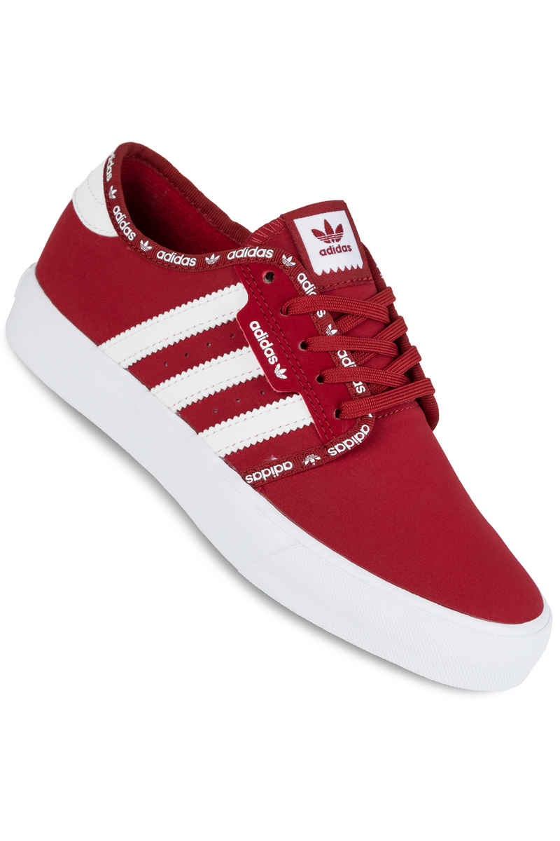 adidas Seeley Schuh kids (mystery red white)