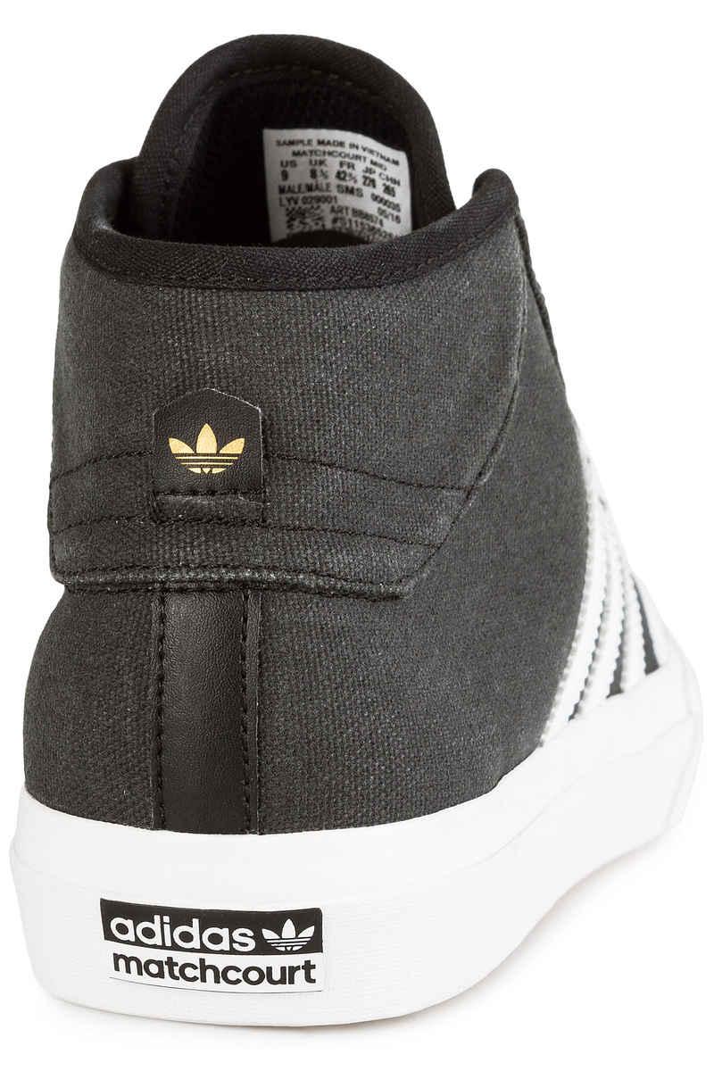 adidas Skateboarding Matchcourt Mid Chaussure (core black crystal white)