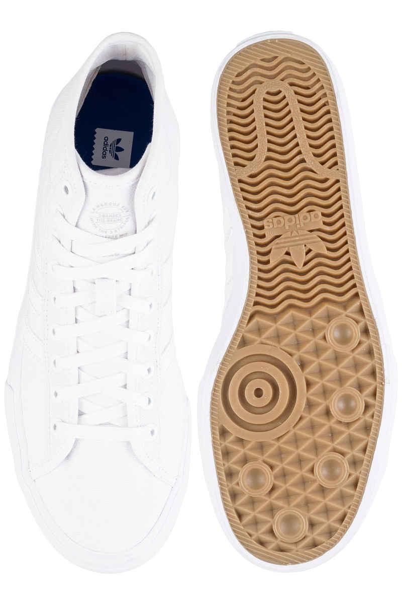 adidas Skateboarding Matchcourt High RX Shoes (white white white)