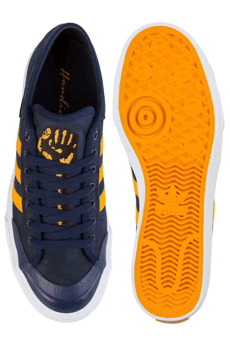 adidas Skateboarding x Hardies Matchcourt Shoes (collegiate navy white)