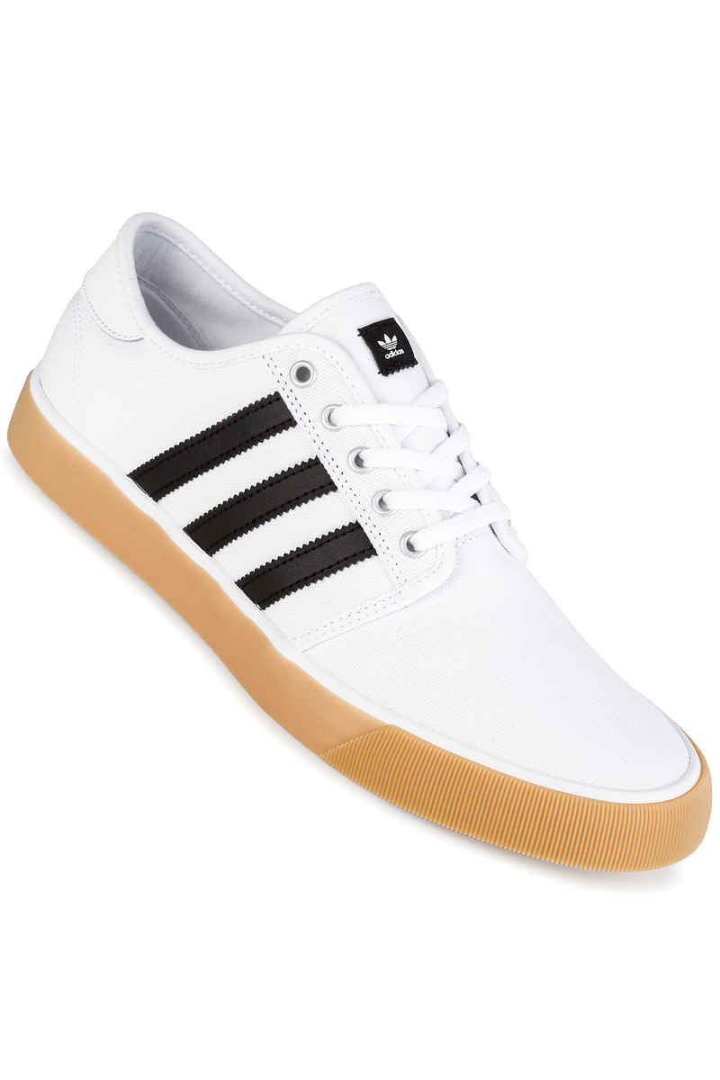 adidas Seeley Decon Shoes (white core black white)