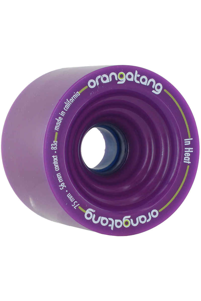 Orangatang In Heat 75mm 83A Rollen (purple) 4er Pack