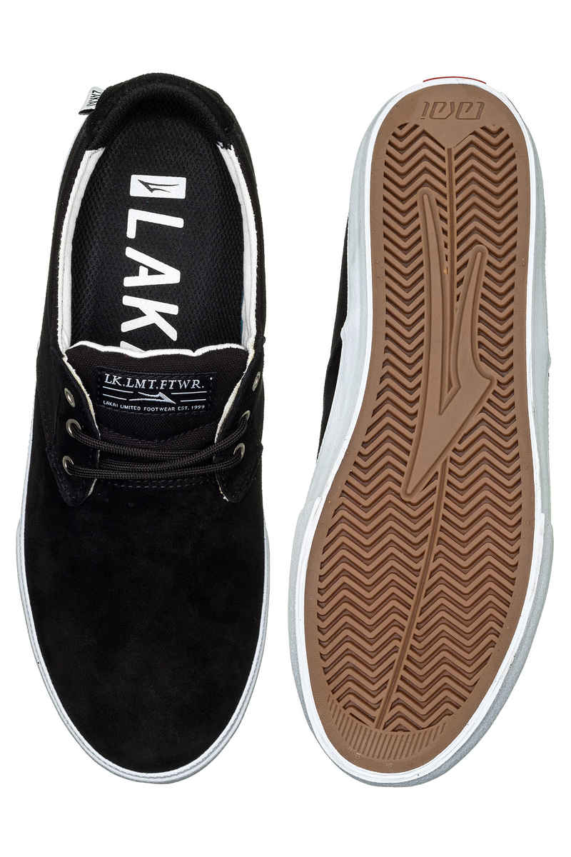 Lakai Daly Suede Shoes (black)