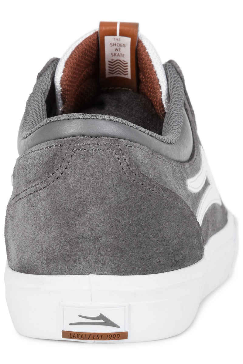 Lakai Griffin Suede Shoes (grey)