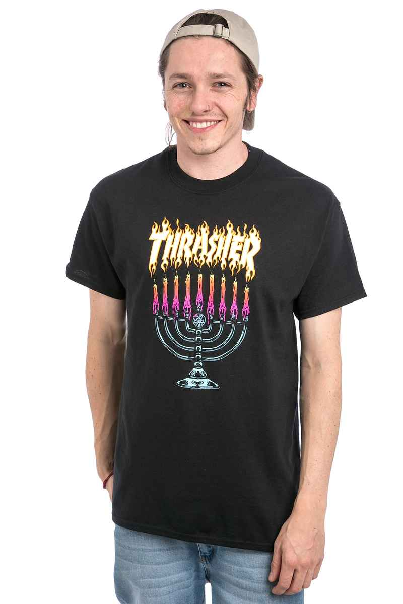 Thrasher Menorah T-Shirt (black)